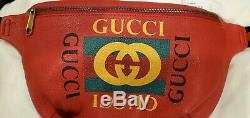 Gucci Sac Banane Sac De Taille, Sac En Cuir Imprimé Gucci. Gg Millésime