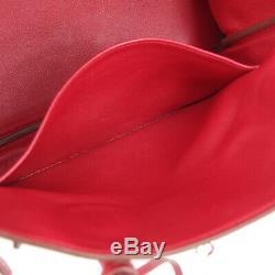 Hermes Birkin 30 Sac À Main M 54 E Bourse Rouge Swift Vintage France Veau Rk14223a
