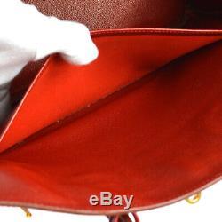 Hermes Birkin 35 Sac À Main Sac À Main Rouge Greine Couchevel Un Veau Vintage S09438