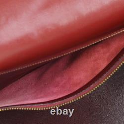 Hermes Kelly 32 Sellier Hand Bag Tri-color Box Calf Vintage France K08406f