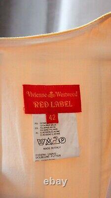 Jaune Vivienne Westwood Red Label Vintage Corset Top Bustiere