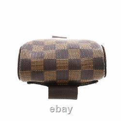 Louis Vuitton Geronimos Sac À Bandoulière Damier Brown Vintage N51994 Auth #ii880 S