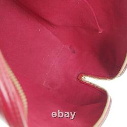 Louis Vuitton Jasmine Hand Bag Th0959 Sac À Main Red Epi Leather M52087 Vintage 34372