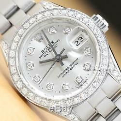 Mesdames Rolex Datejust Brillant Diamant Et Rolex Oyster Band