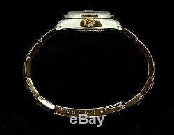 Mesdames Rolex Datejust Oyster Inoxydable Or Diamond Dial Lunette Montre