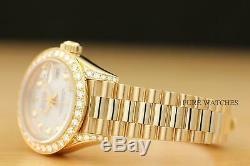 Mesdames Rolex Président En Or Jaune Diamond Watch & Original Rolex Bracelet