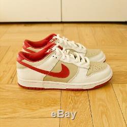 Nike Dunk Low Pro B 02 03 Femmes Rouge Blanc Os 10 Hommes 8.5 Ds Sb Vintage Cojp