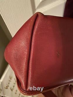 Rare Vintage Coach #9791 Red Daypack / Mini Sac À Dos / Sac À Main