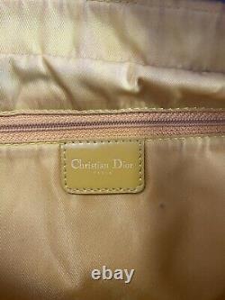 Rare Vtg Christian Dior Par John Galliano Red Orange Patent Bag