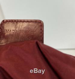 Rare Vtg Christian Dior Par John Galliano Red Trotter Monogram Sac Boston
