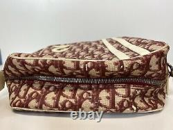 Rare Vtg Christian Dior Par John Galliano Red Trotter Pvc Shoulder Bag
