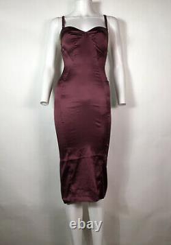 Rare Vtg Dolce & Gabbana Robe De Bourgogne D&g Xs