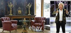 Rod Stewart Essex Accueil Chaises En Cuir Rouge Victorian Blood Howard & Son