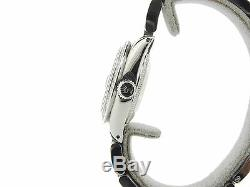 Rolex Datejust Montre En Acier Inoxydable Avec Rose Mop Dial Diamond & Lunette