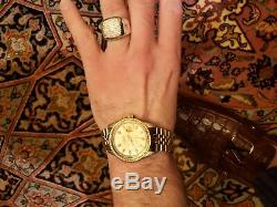 Rolex Hommes / Femmes Datejust Turn-o-graph 36mm Dial Diamond & Bezel Pro Serviced