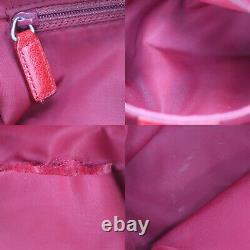 Sac À Bandoulière Christian Dior Trotter Brown Pvc Toile Cuir Vintage Auth # Ab226