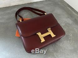 Sac Authentique Hermes Vintage Constance