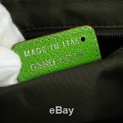 Sac Christian Dior Trotter Selle Croix-épaule Body Rasta Couleur Vtg Ak38415b