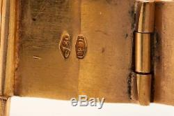 Vintage 12 000 $ Red Mop Diamant Or Jaune 18 Carats Mesdames Rolex Ecrin Wty 49g