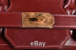 Vintage Authentique Hermes Sac Ahc 55 Bagages Made En 1983