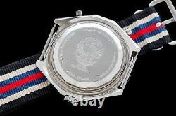 Vintage Brietling Chronomat Chrono-matic 1806 Iraqi Air Force Men's Wrist Watch
