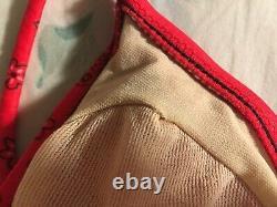 Vintage Guess Bikini Maillot De Bain De Bain De Natation. 2 Pc Taille Petite. 100% Authentique. Nouveauté
