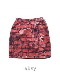 Vintage Jean Paul Gaultier Jupe De Lutte Contre Le Racisme Brick M