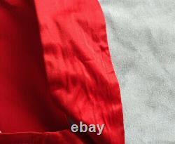 Vintage Vivienne Westwood Corset En Satin Rouge Avec La Taille Du Globe Classique 42 Très Rare