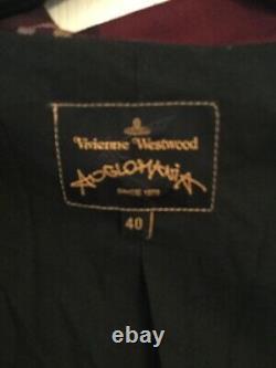 Vivienne Westwood Anglomania Vintage Tartan Plaid Jacket Blazer Sz 40, Amazing