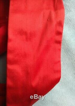Vivienne Westwood Cru Satin Rouge Orbe Corset 42