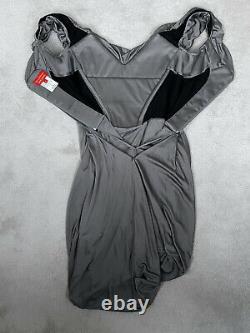 Vivienne Westwood Robe Corset Gown Rouge Label Vintage Rare M Cocotte Bustier